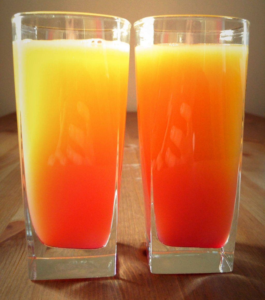 Tequila Sunrise i Amaretto Sunrise