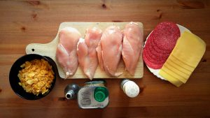 Roladki drobiowe z salami i serem – Odrobina wymyślności