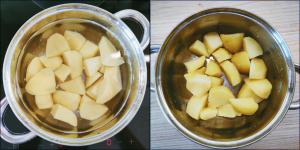 Cukiniowo-ziemniaczany kuku z szafranem