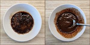 deser kawowy (Dalgona)