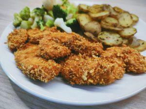 kurczak z ziemniakami w plastrach
